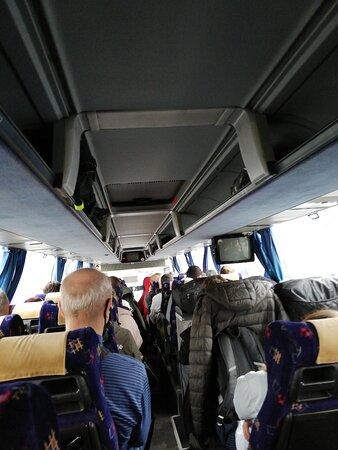 Не советую ехать с пересадкой. Второй автобус может быть ужасный.