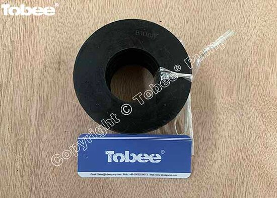China: Tobee 1.5x1B-AH pump intake joint B1060S01, EH3132 discharge joint seal for 4x3E-HH slurry pump Email: Sales7@tobeepump.com Web: www.tobeepump.com   www.slurrypumpsupply.com   www.tobee.cc   www.hydroman.cn