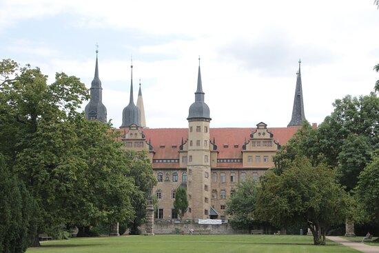 เมอร์สเบิร์ก, เยอรมนี: The castle of Merseburg in Saxony-Anhalt/Germany. It was used as royal palace and bishop's see.