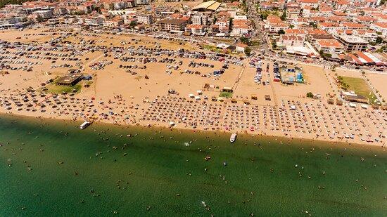 Sarimsakli, Turkey: Tesise Ait Özel Plajımız
