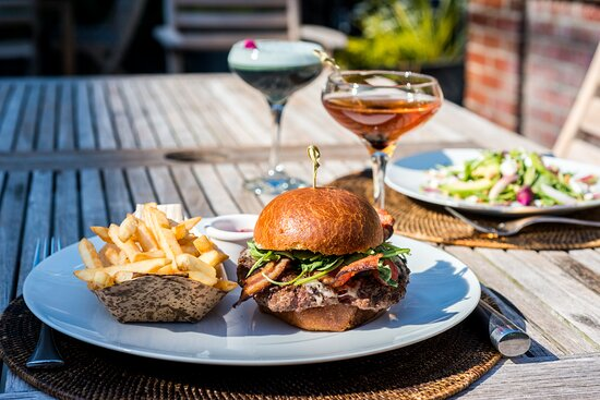 Dine al fresco throughout the spring and summer at The Gwynne