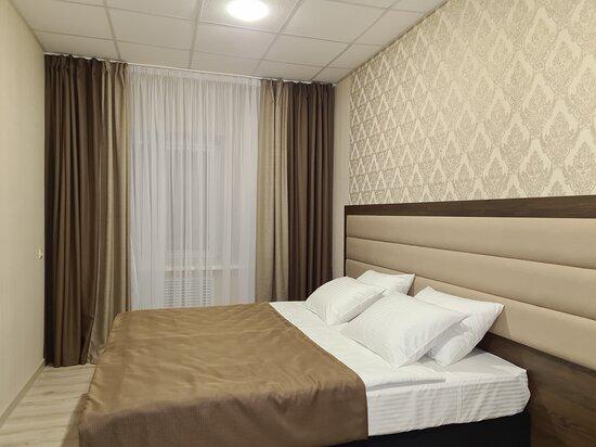Tikhoretsk, Rusland: Двухместный номер с 2 спальной кроватью или двумя односпальными