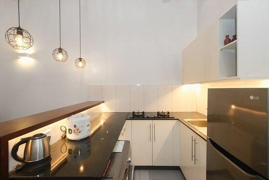 Kitchenette in One Bedroom