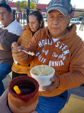 Nombre de Dios, Mexico: De  los placeres de la gastronomia, cantaritos y nieve de garrafa