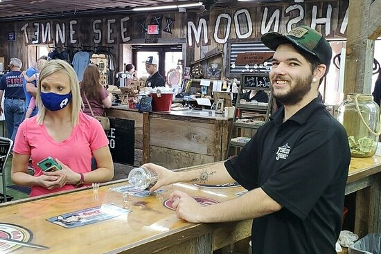 3-Hour Moonshine Tasting & History Tour from Pigeon Forge