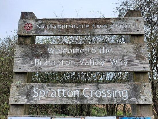 The Spratton To Lamport Rail Walk