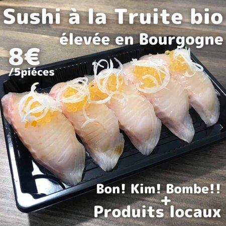 *Édition limitée* Sushi à la Truite