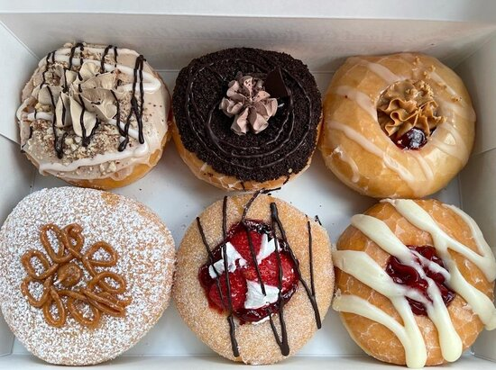 Imaginative Donuts, Not Too Pricey, But...