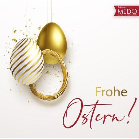 Wir wünschen Ihnen und Ihrer Familie schöne Ostertage! Frohe Ostern!🐰💝 #MEDORestaurant #FroheOstern
