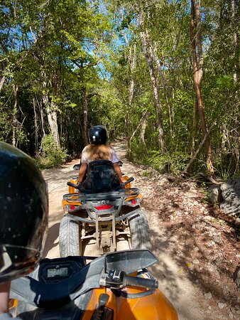 Tulum Ruins, ATV Extreme, and Cenotes Tour from Riviera Maya: Extreme ATV in the jungle!