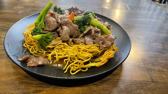 Cantonese style fried noodle