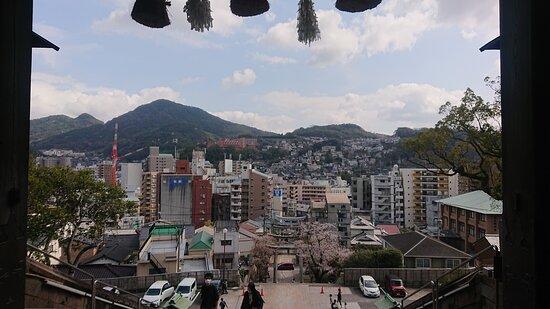 Nagasaki, Japan: view from the top