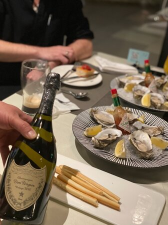 Fresh Oysters and Champagne