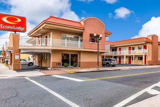 Econo Lodge Beach and Boardwalk, Hotels in Ventnor City