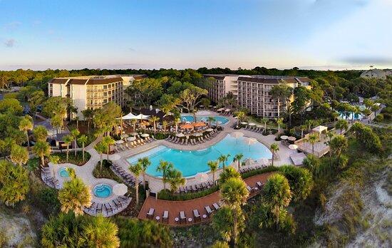Omni Hilton Head Oceanfront Resort, hôtels à Fripp Island