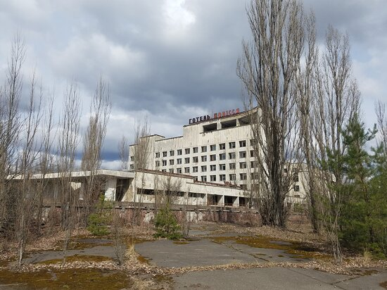 Full-Day Tour of Chernobyl and Prypiat from Kyiv: Отель Полісся в Припяти