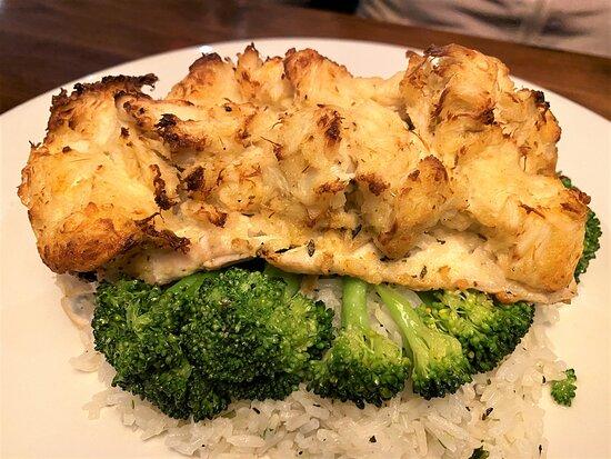 Crab Encrusted Fish