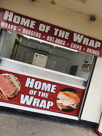 Great tasting Wraps, Burgers and Hot Dogs