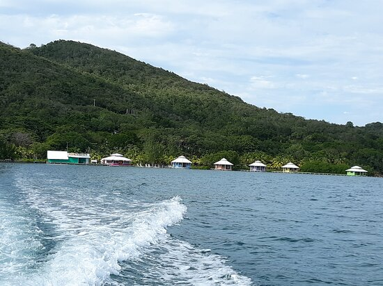 view of MCL from the boat