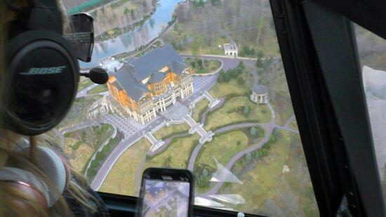Chernobyl Helicopter Tour - Mezhyhyrya Residence