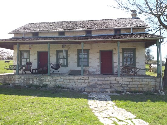 1857 restored home on old san antonio road on way to cabins