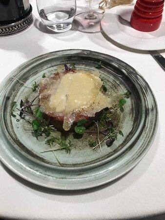Olost, Španělsko: Steak Tartar