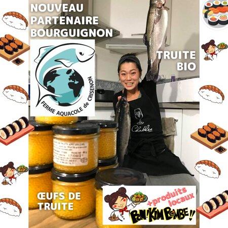 Notre fournisseur de truite bio de Bourgogne