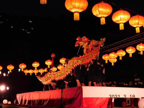 萬福寺ランタン 景観一例 2021年3月19日 撮影