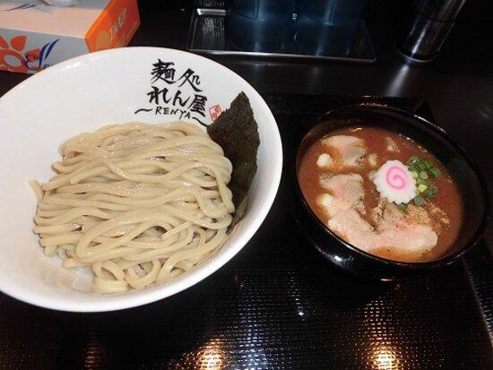 魚介豚骨つけ麺 850円