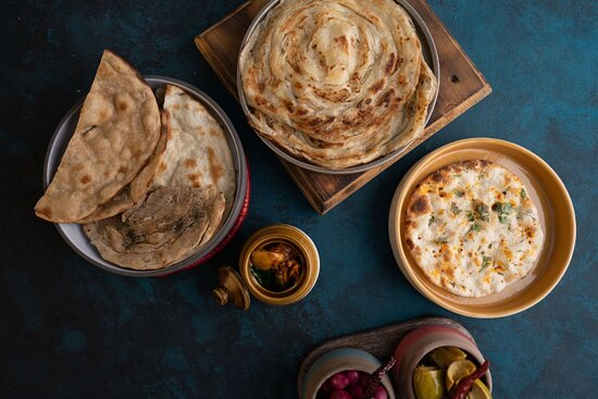 Assorted Indian Breads from our Tandoor Oven