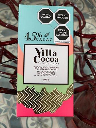 Chocolate con Leche y Chispas de Cacao