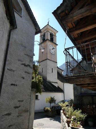 the church of Giumaglio