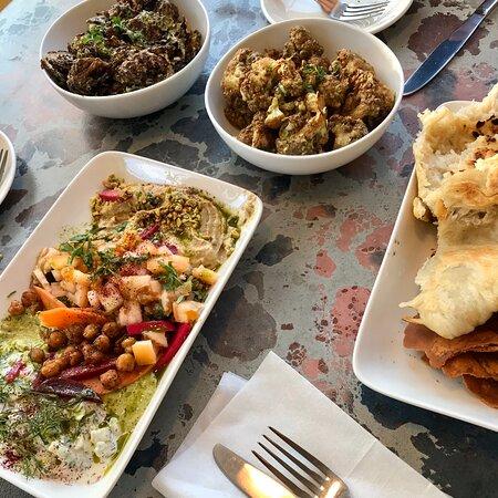 Super delicious Lebanese food