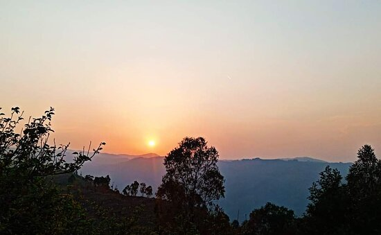 Sunset @ Kodaikanal Tent stay