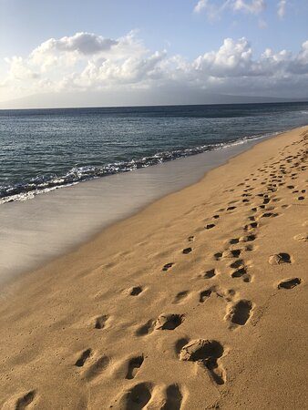 RK beach area.