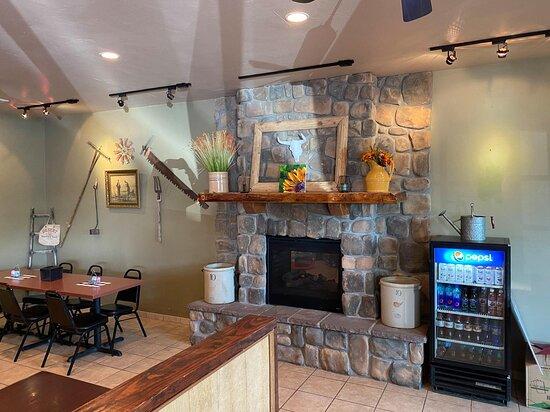 Rangely, CO: Inside restaurant