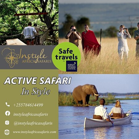 Lake Manyara National Park, تنزانيا: While travelling with us to Tanzania, you will have the opportunity to experience the Safari Outside the Vehicle. These exiting activities includes Walking  Safari, canoeing , tuk tuk ride, biking, canopy, zipl inning and so much more.  