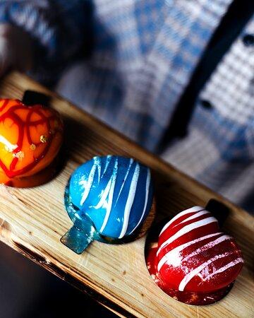 Десерт 100% любовь от наших кондитеров