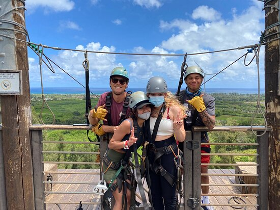 Zipline Tour On Oahu's North Shore: The coolest guides ever!