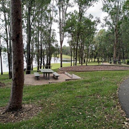 Wonderful lakeside picnic grounds