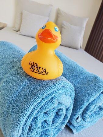Rubber Ducky..strike a pose! #greenworldwidetravel