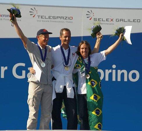 Único Brasileiro a ganhar Medalha nas Olimpíadas Aéreas. Bronze em acrobacia (World Air Games 2009 - Itália)