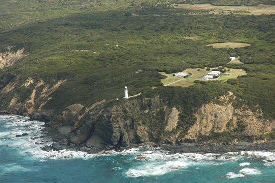 Cape Otway, Austrália: 90 metres above sea level