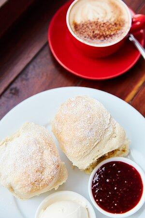 Cape Otway, Austrália: Scones with Jam and Cream