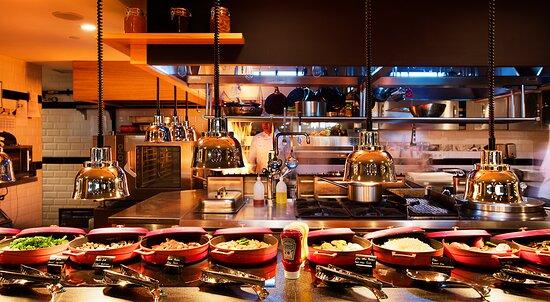 Open Lobby Kitchen & Buffet Bar