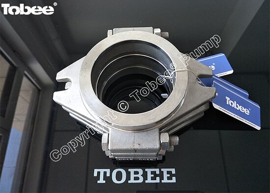 China: Tobee 4x3D-AH pump spares gland assembly D044 with stainless steel material Email: Sales7@tobeepump.com Web: www.tobeepump.com | www.slurrypumpsupply.com | www.tobee.cc | www.hydroman.cn