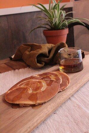 Autre envie gourmande, autre choix ! Pancakes au sirop d'érable !
