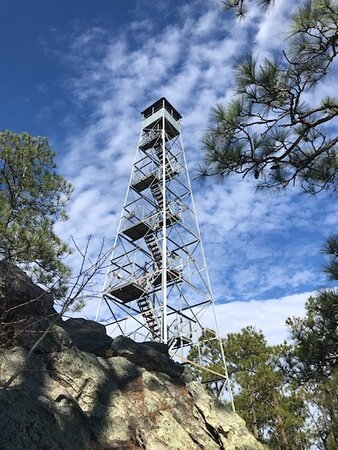 Jacksons Gap, AL: Smith Mountain Fire Tower