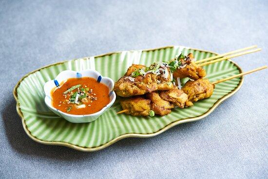 タイ風焼き鳥サテー Thai Style Satay Chicken