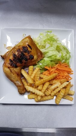 CHEF RECOMMENDED OWN TASTE  1/4 Chicken Meal